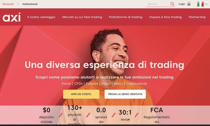 axi homepage principale