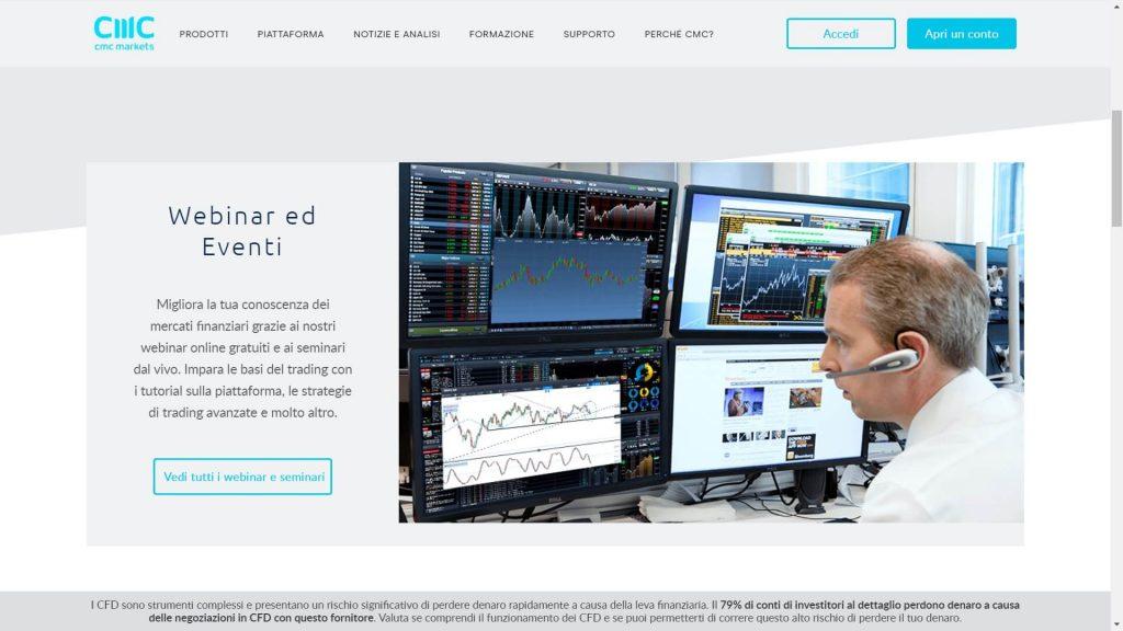 cmc markets eventi webinar