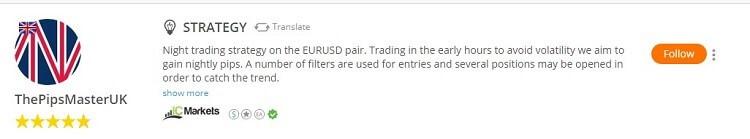 copy trading sicuro profilo