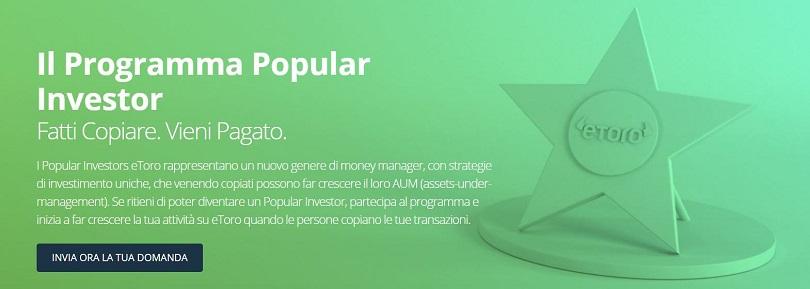 programma etoro popular investor
