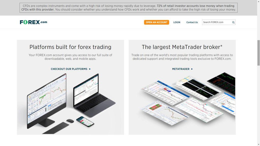 forex.com piattaforma metatrader