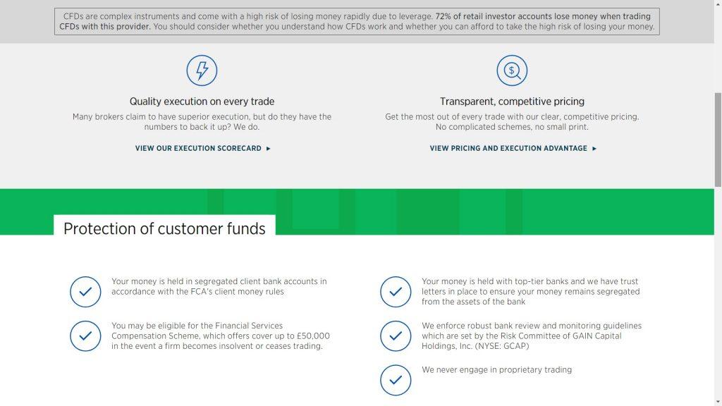 forex.com protezione dei fondi
