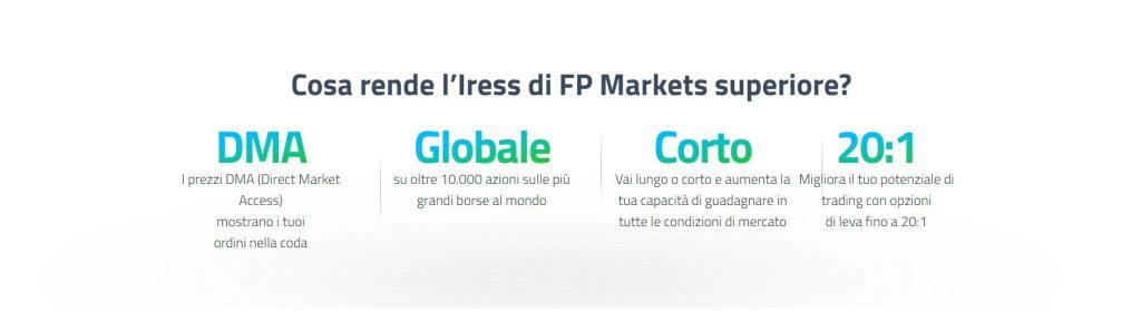 esecuzione iress di fp markets