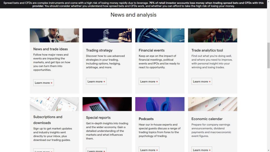 ig markets sezione analisi delle notizie