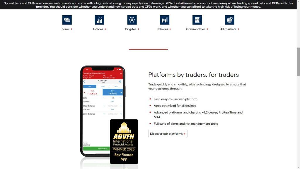 piattaforma mobile di trading di ig markets
