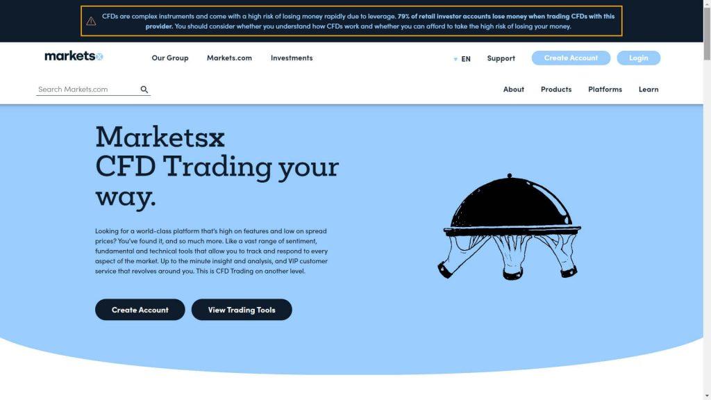 Ragioni per cui aprire un conto di trading MarketsX