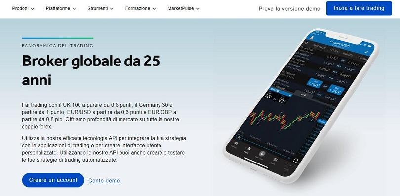 oanda homepage prova versione demo