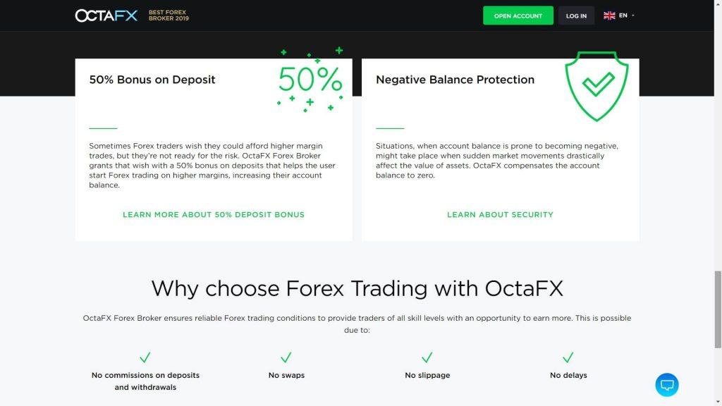 octafx caratteristiche di trading