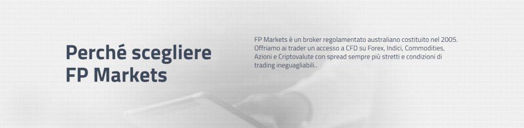 Perché scegliere fp markets?