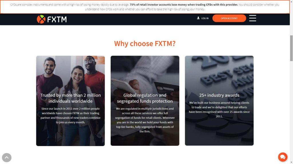 Perché scegliere FXTM per fare trading online