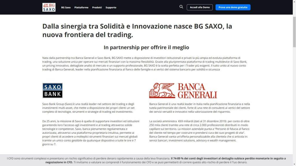 partnership di saxo bank