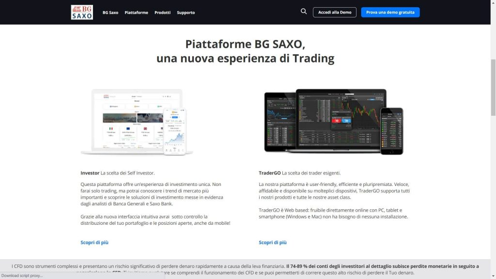 piattaforme di trading di saxo bank
