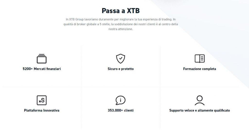 Perché passare a fare trading con XTB