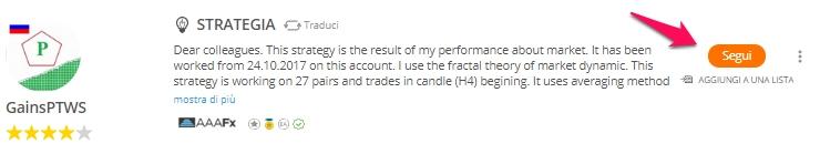 zulutrade collegare un trader